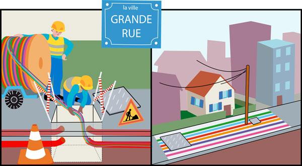 Raccordement aux r seaux de la fibre optique kafibre - Copropriete fibre optique ...